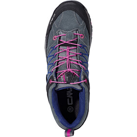 CMP Campagnolo Rigel Low WP Trekking Shoes Junior grey-hot pink